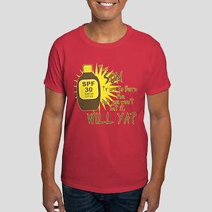 The Sun Tries to Burn Me Dark T-Shirt