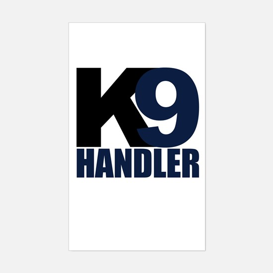 Two Tone K9 handler Rectangle Decal