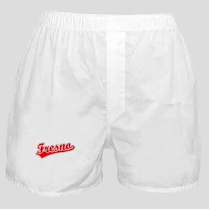 Retro Fresno (Red) Boxer Shorts