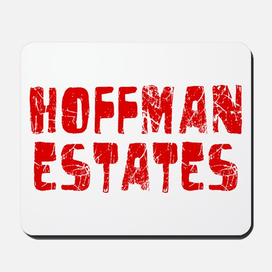 Hoffman Esta.. Faded (Red) Mousepad