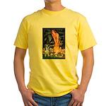 MidEve - Catahoula Leopard Yellow T-Shirt