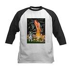 MidEve - Catahoula Leopard Kids Baseball Jersey