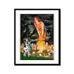 MidEve - Catahoula Leopard Framed Panel Print