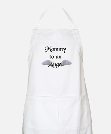 Mommy To An Angel BBQ Apron