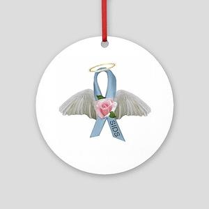 SIDS Ribbon Ornament (Round)