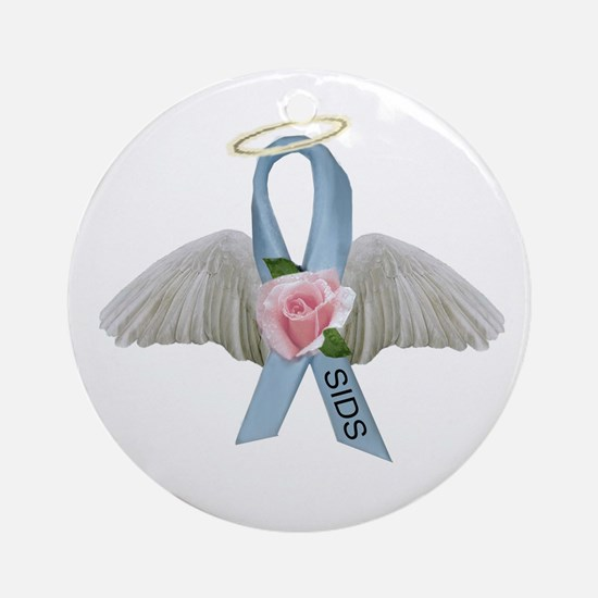 SIDS Ribbon Ornament (Round)