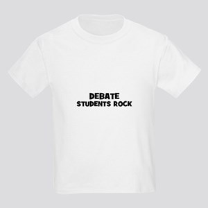 Debate Students Rock Kids Light T-Shirt