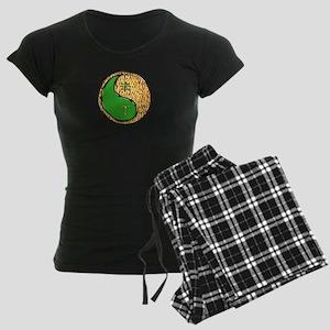 Fire Goat Women's Dark Pajamas