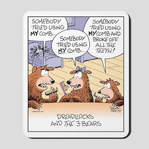 Dreadlocks & 3 Bears Mousepad