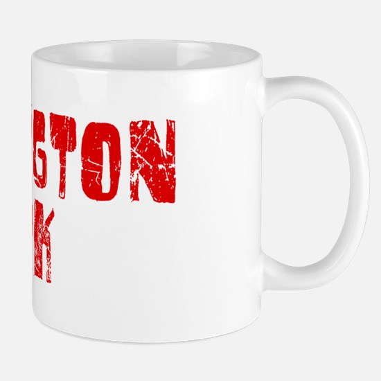 Huntington P.. Faded (Red) Mug
