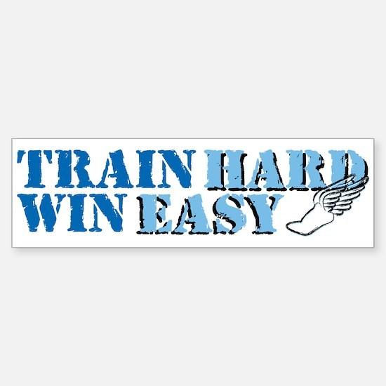 Train Hard - Track Sticker (Bumper)