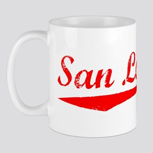 Vintage San Leandro (Red) Mug