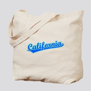 Retro California (Blue) Tote Bag