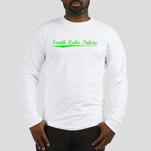 Vintage South Lake.. (Green) Long Sleeve T-Shirt