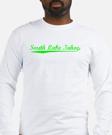 Vintage South Lake.. (Green) Long Sleeve T-Shirt