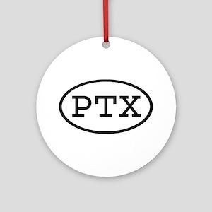 PTX Oval Ornament (Round)