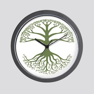 Deeply Rooted Wall Clock