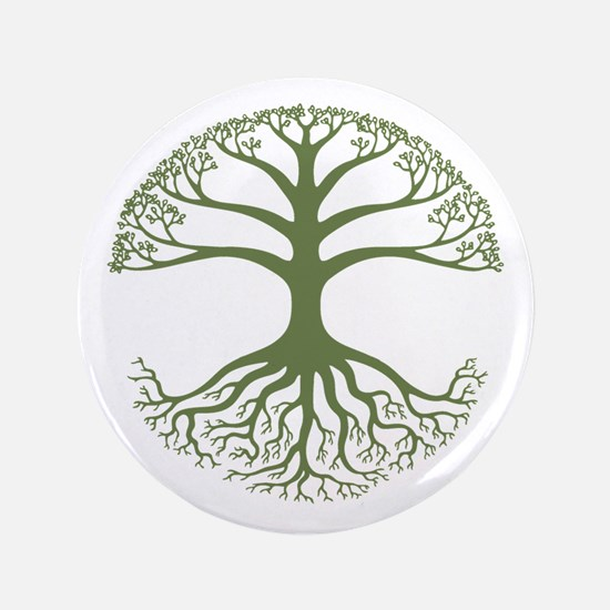 "Deeply Rooted 3.5"" Button"