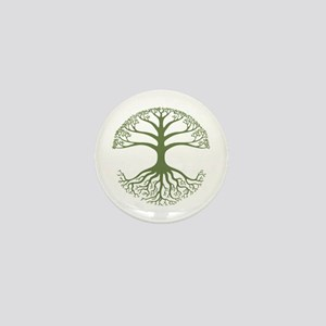 Deeply Rooted Mini Button