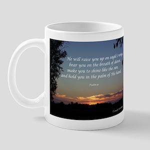 On Eagle's Wings...Psalm 91 Mug