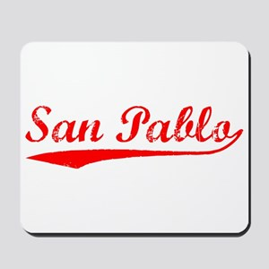 Vintage San Pablo (Red) Mousepad