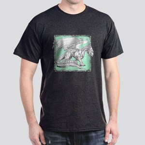 White Dragon 3 Dark T-Shirt