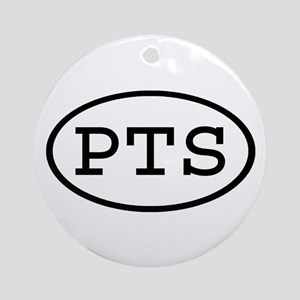PTS Oval Ornament (Round)