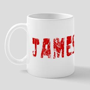 Jamestown Faded (Red) Mug