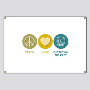 Peace Love Occupational Therapy Banner