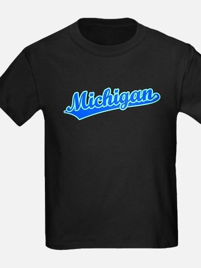 Retro Michigan (Blue) T