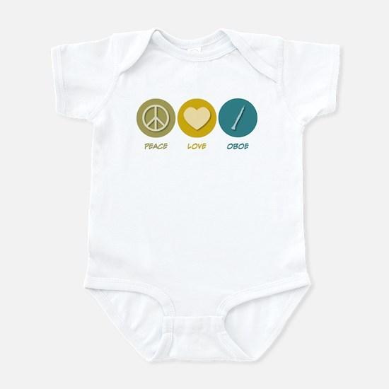 Peace Love Oboe Infant Bodysuit