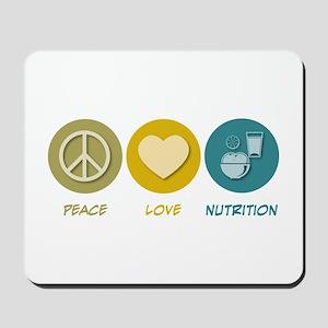 Peace Love Nutrition Mousepad