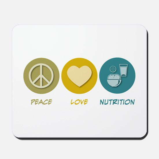 Peace Love Nutrition Mousepad