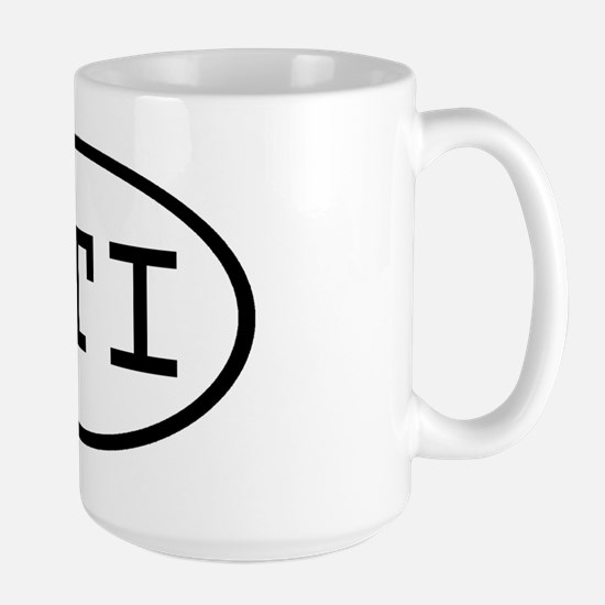 PTI Oval Large Mug