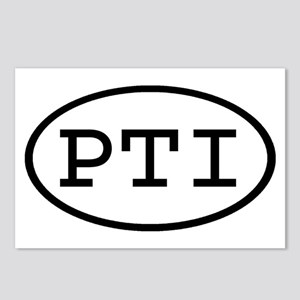 PTI Oval Postcards (Package of 8)