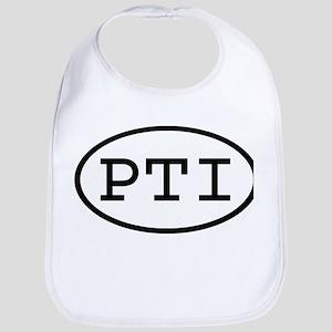 PTI Oval Bib