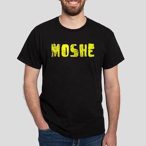 Moshe Faded (Gold) Dark T-Shirt