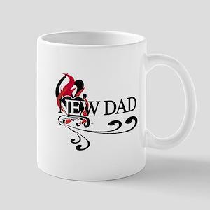 Heart New Dad Mug