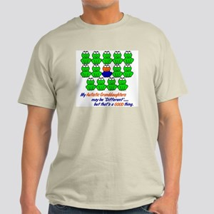 Different FROGS 1 (Granddaughters) Light T-Shirt