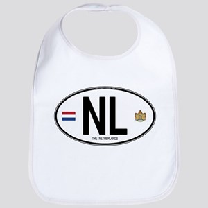 Netherlands Intl Oval Bib