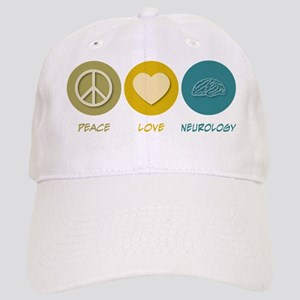 Peace Love Neurology Cap