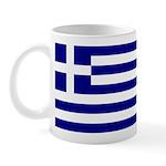 Greek Flag Mug