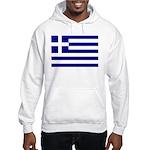 Greek Flag Hooded Sweatshirt