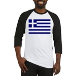 Greek Flag Baseball Jersey