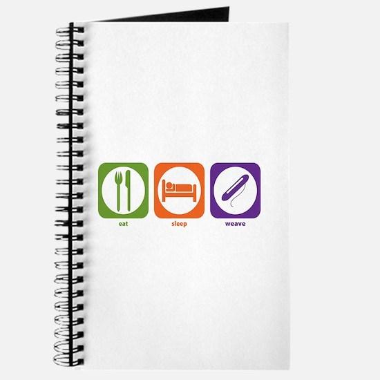 Eat Sleep Weave Journal