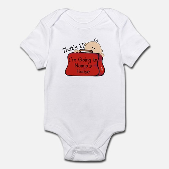 Going to Nonno's Funny Infant Bodysuit