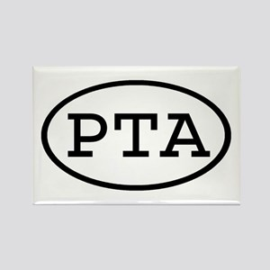 PTA Oval Rectangle Magnet