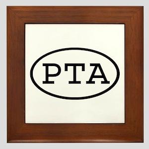 PTA Oval Framed Tile
