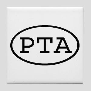 PTA Oval Tile Coaster