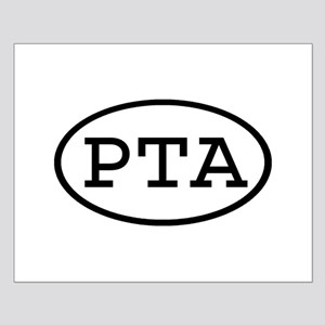 PTA Oval Small Poster